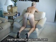Mature Justine Posing 1